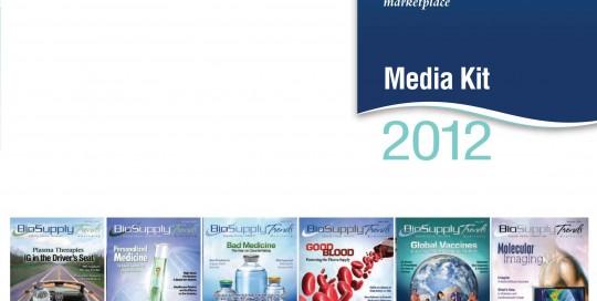 BioSupply Trends Quarterly 2012  MediaKit